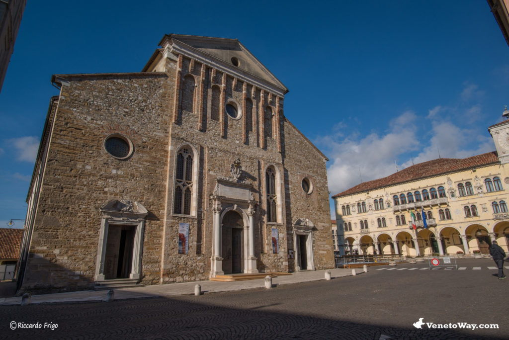 The Belluno cathedral