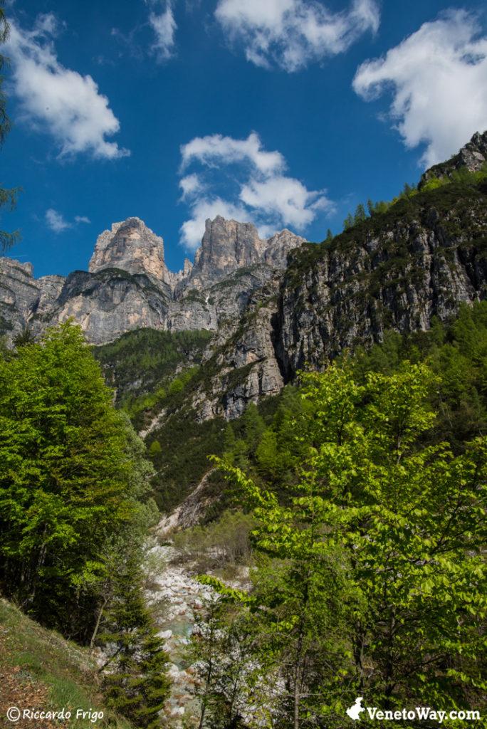 Spiz di Mezzodì - Il Gruppo Mezzodì Pramper delle Dolomiti di Zoldo