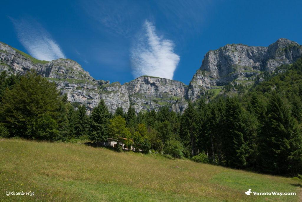 Alpi Feltrine o Dolomiti di Feltre - La Valbelluna