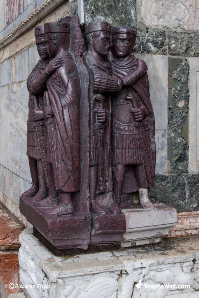 Statua dei Tetrarchi - Palazzo Ducale