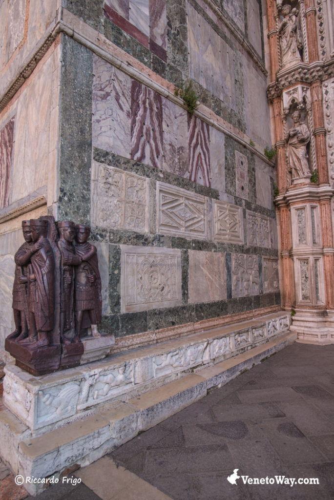 Statua dei Tetrarchi del III-IV secolo d.C. - Piazza San Marco