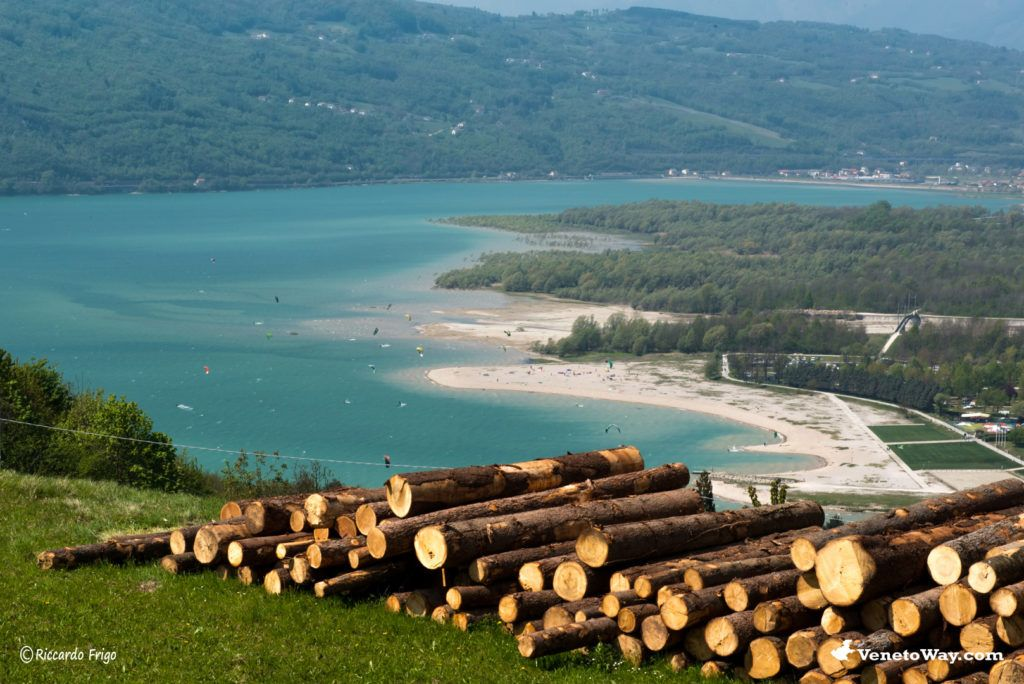 Lago Santa Croce ad Alpago