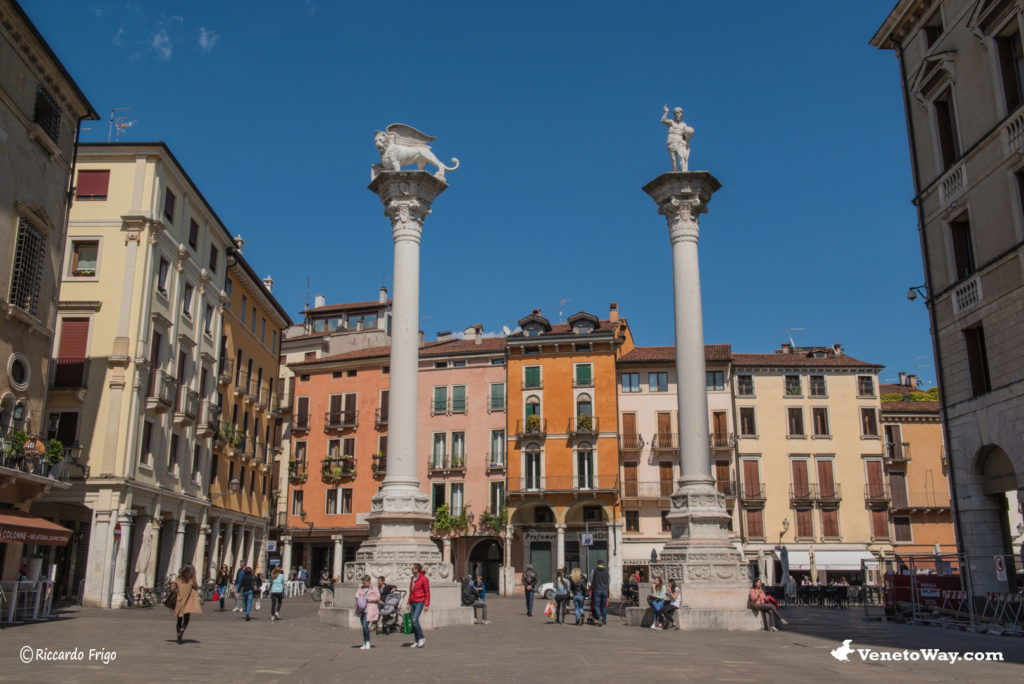 The squares of Vicenza
