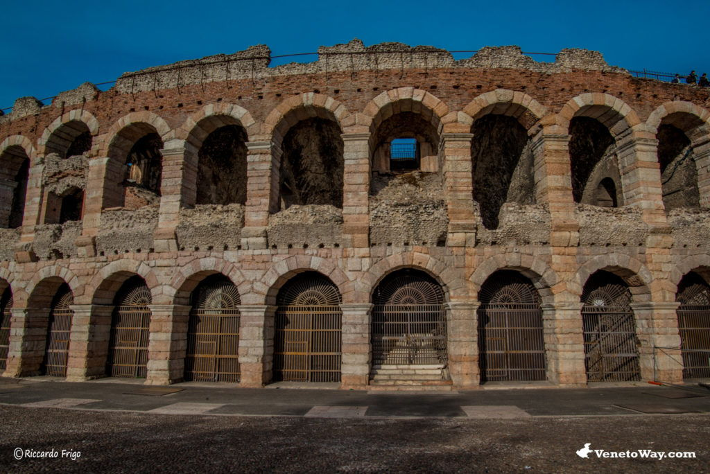 The amphitheater of Verona