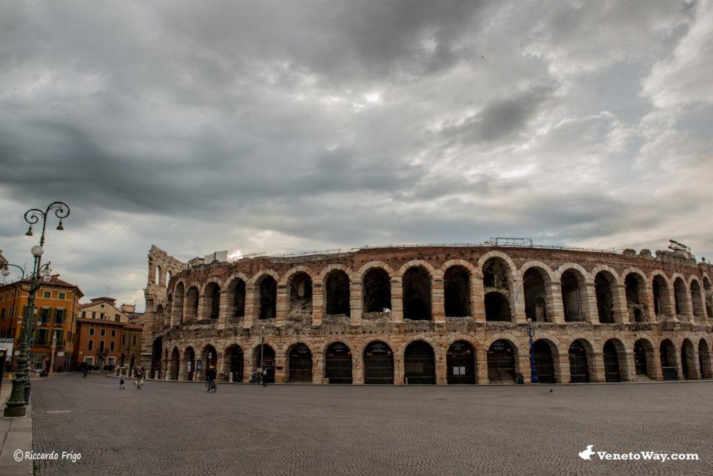 Anfiteatro di Verona - Il Centro Storico di Verona