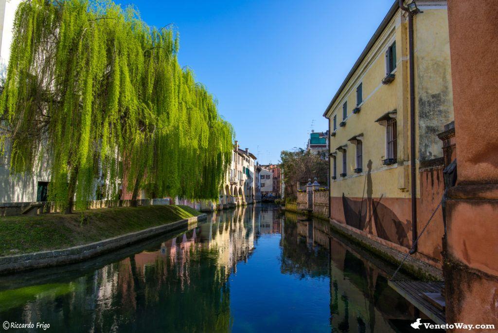 Il Canale dei Buranelli - Il centro storico di Treviso