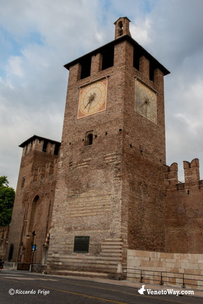 La fortezza e il ponte di Castelvecchio