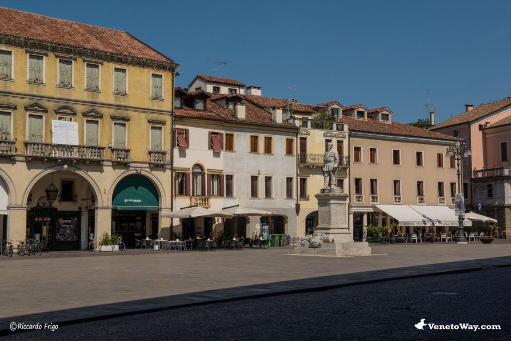 The Rovigo city center