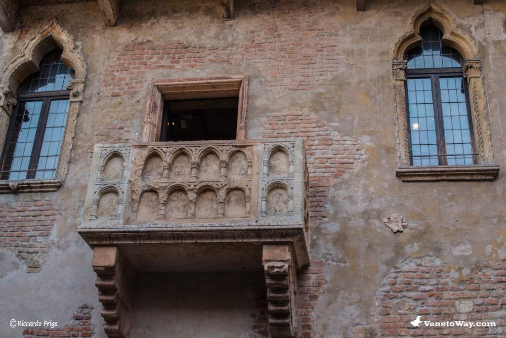La casa di Giulietta nel centro storico Verona