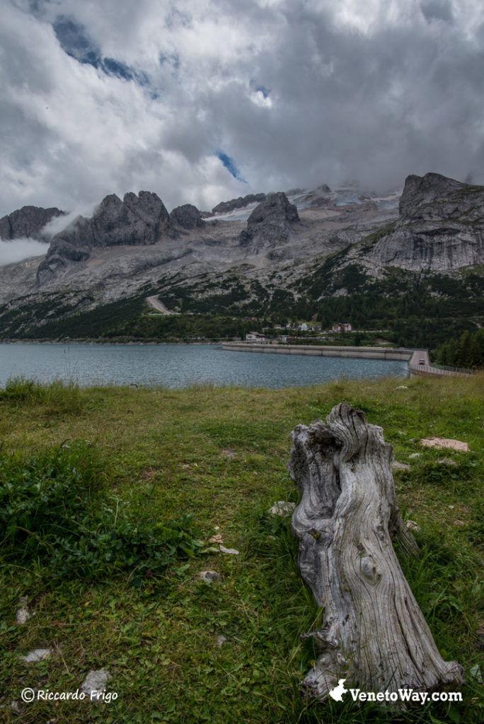Lago di Fedaia - Marmolada - Dolomiti di Gardena e di Fassa