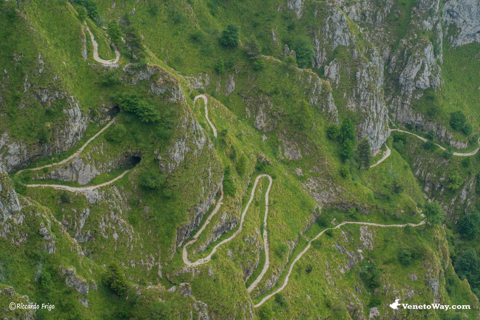 Il massiccio del Monte Grappa - Da Bassano del Grappa a Sandrigo