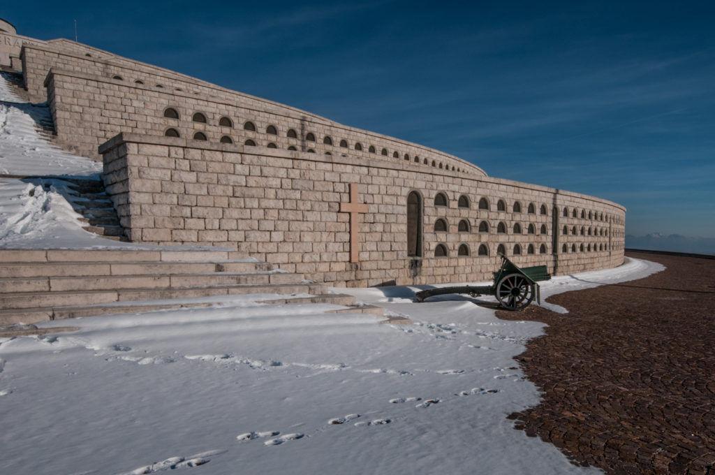 Sacrario militare del monte Grappa - Da Bassano del Grappa a Sandrigo