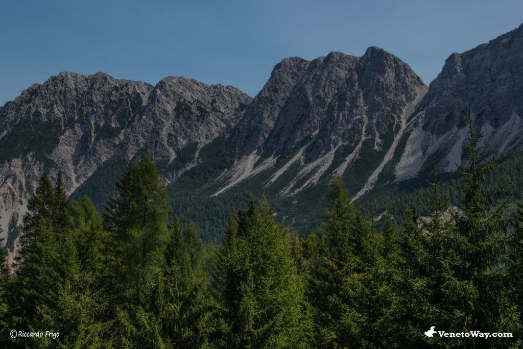 Gruppo del Bosconero nelle Dolomiti di Zoldo