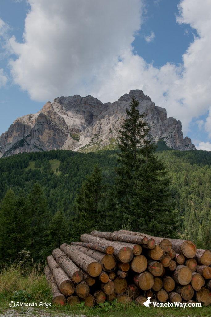 Gruppo della Moiazza nelle Dolomiti di Zoldo