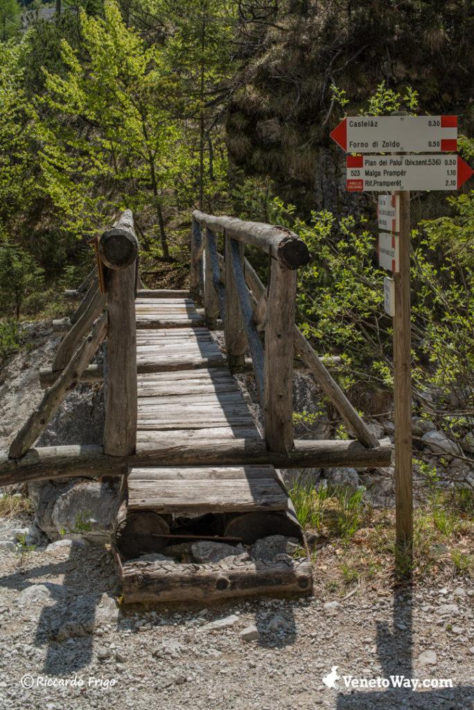 Il Gruppo Mezzodì Pramper delle Dolomiti di Zoldo