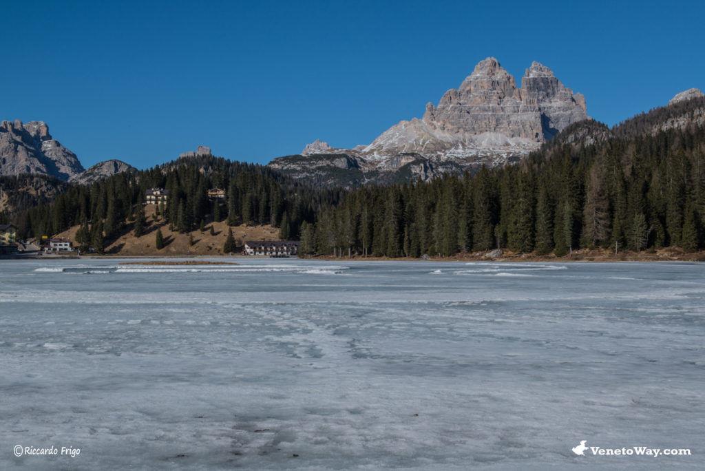 Lago di Misurina - Da Cortina d'Ampezzo a Longarone