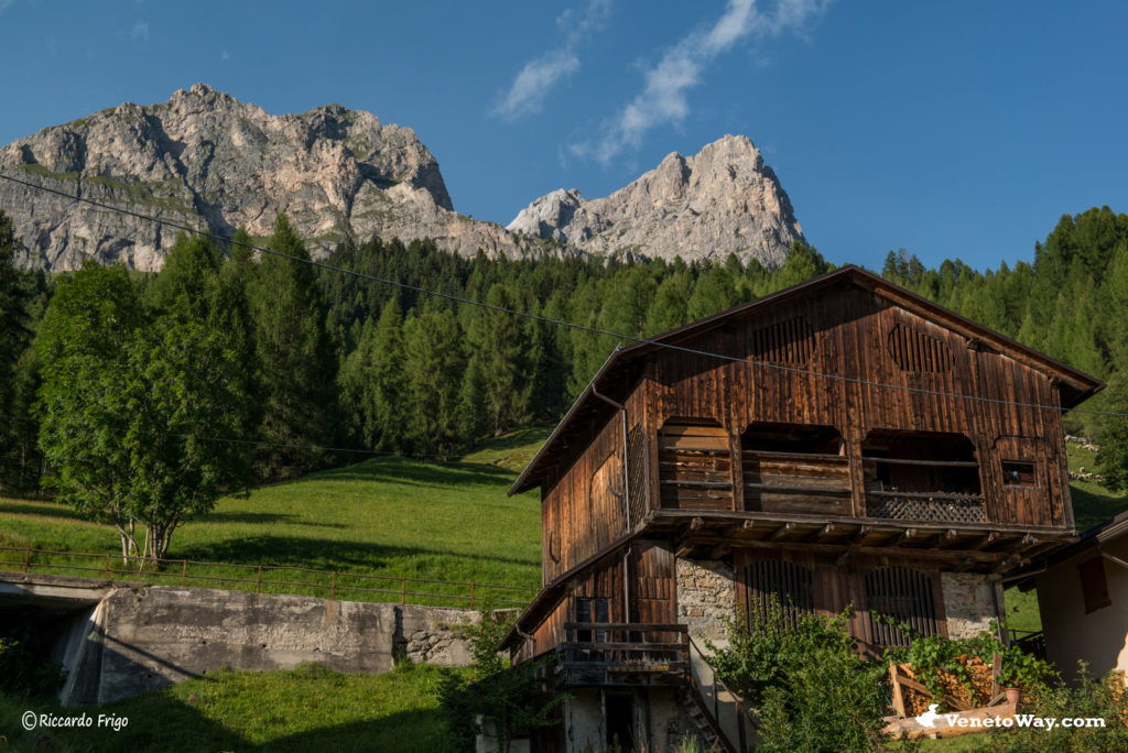 Selva del Cadore nelle Dolomiti di Zoldo