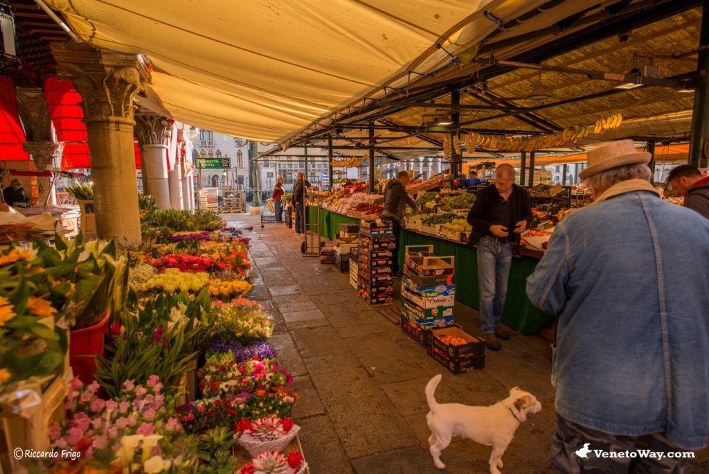 Il Mercato di Rialto - Sestiere San Polo e Santa Croce