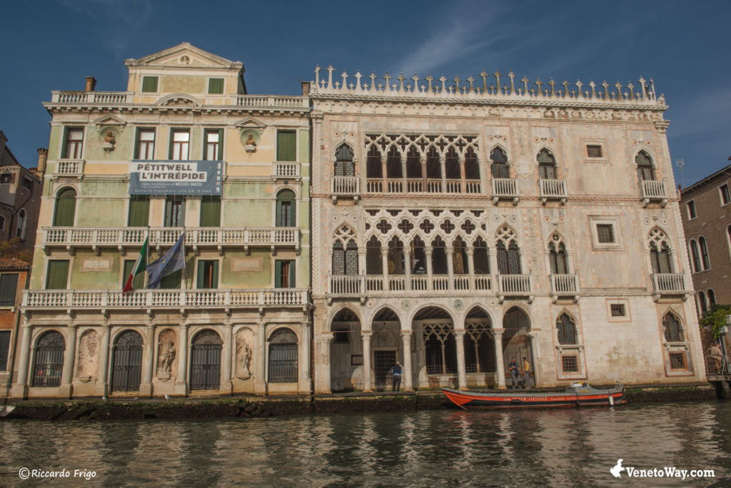 The Ca' d'Oro Palace