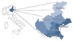La guida della regione Veneto