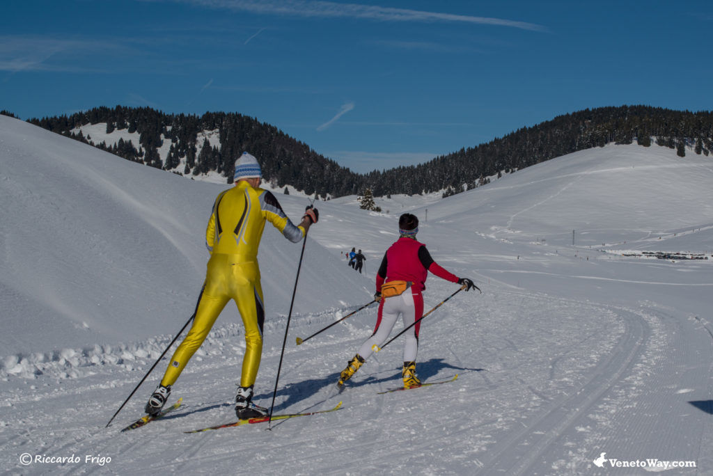 The Marcesina Cross Country Skiing