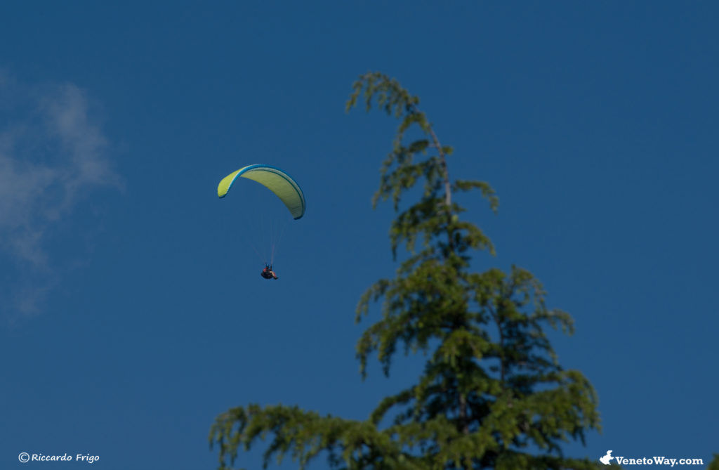 Hang Gliding and Paragliding on Grappa Mount