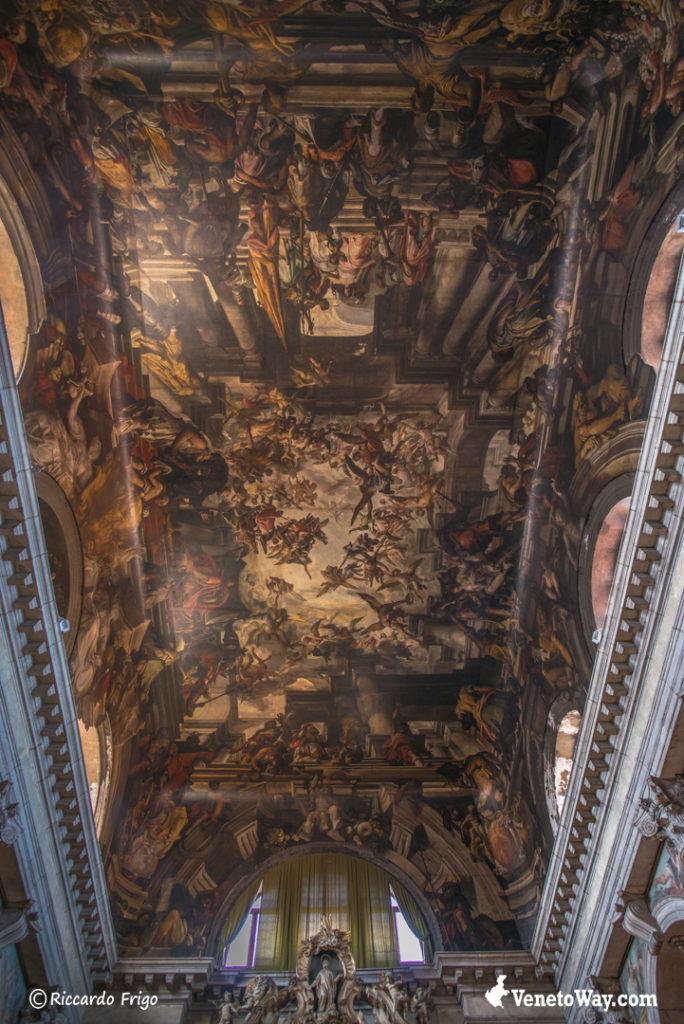 Soffitto Chiesa San Pantalon