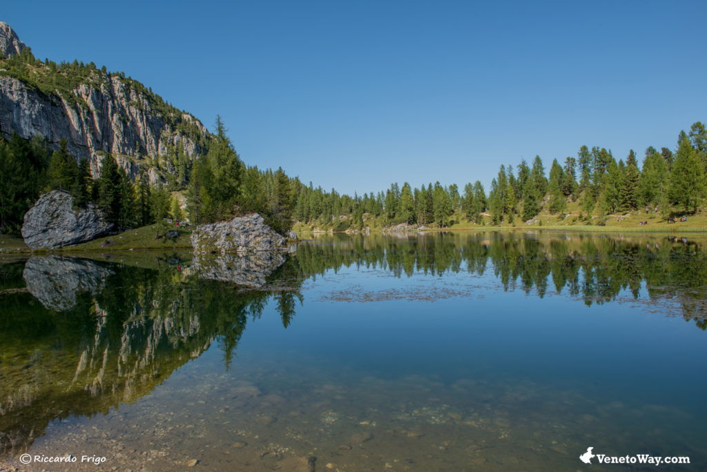 Lago Federa - Gruppo del Croda da Lago