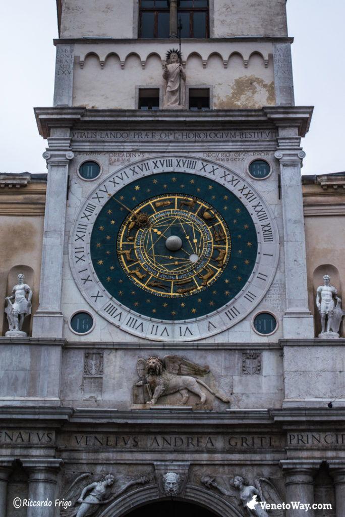 Torre dell'Oroglogio - Le Piazze di Padova