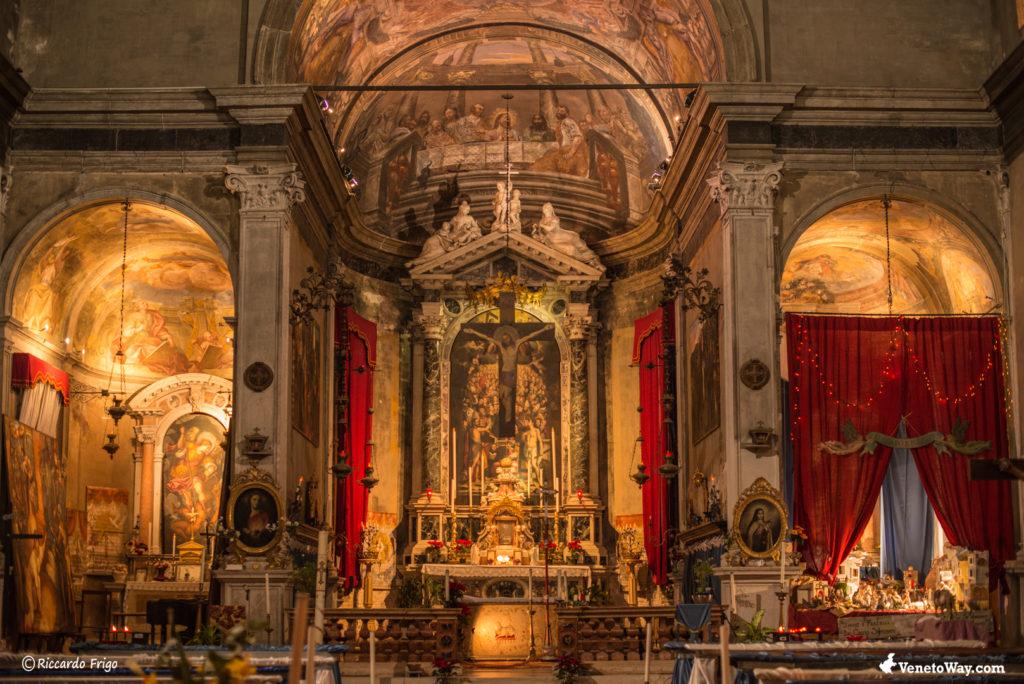 The Ognissanti Church