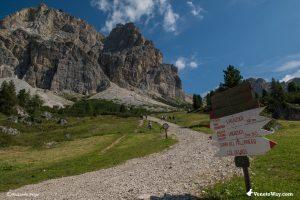 L'escursione al rifugio Lagazuoi