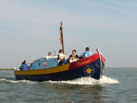 Gita in Laguna Nord di Venezia da Altino