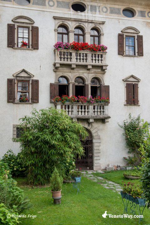 Agordo - Villa Crotta de Manzoni