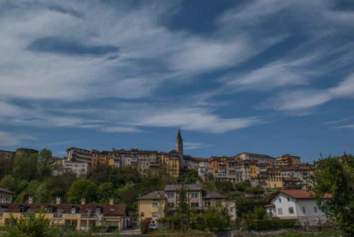 Il centro storico di Belluno