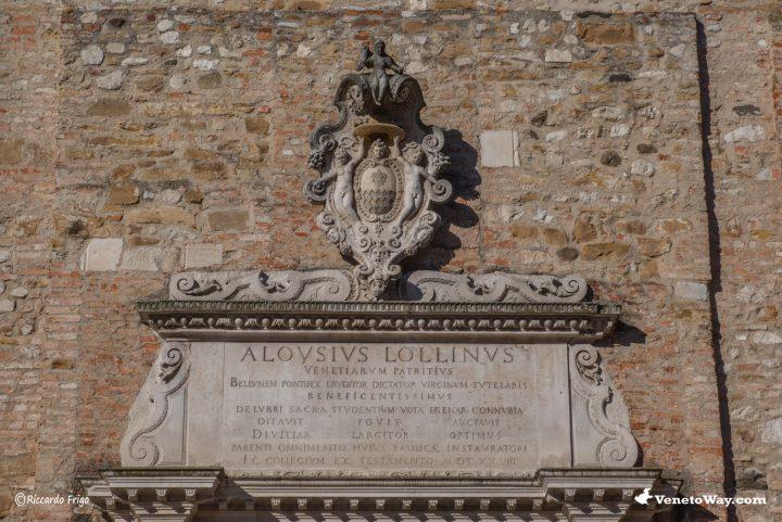 La Basilica Cattedrale di San Martino o Duomo di Belluno