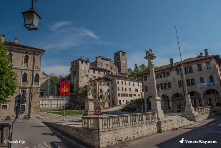 Piazza Maggiore - Castello di Feltre