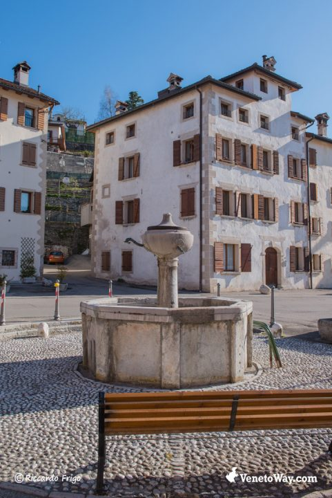 Fontana di Belluno - Il centro storico di Belluno