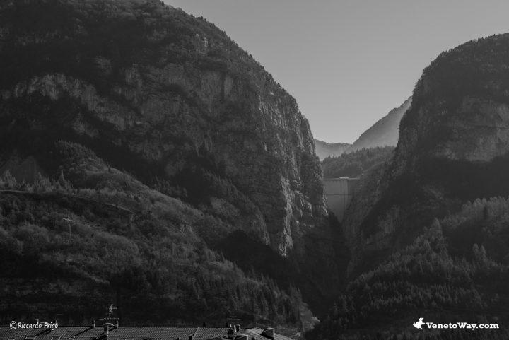 Longarone - La Diga del Vajont del Monte Toc