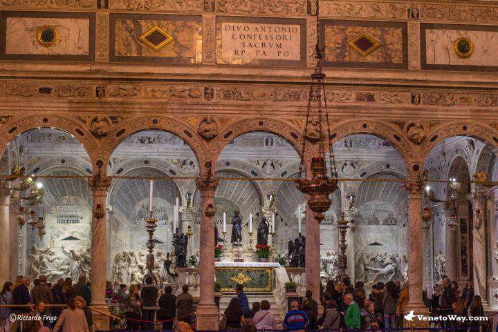 Tomba di Sant Antonio - La Basilica di Sant Antonio