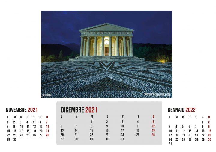 Il Calendario VenetoWay 2021