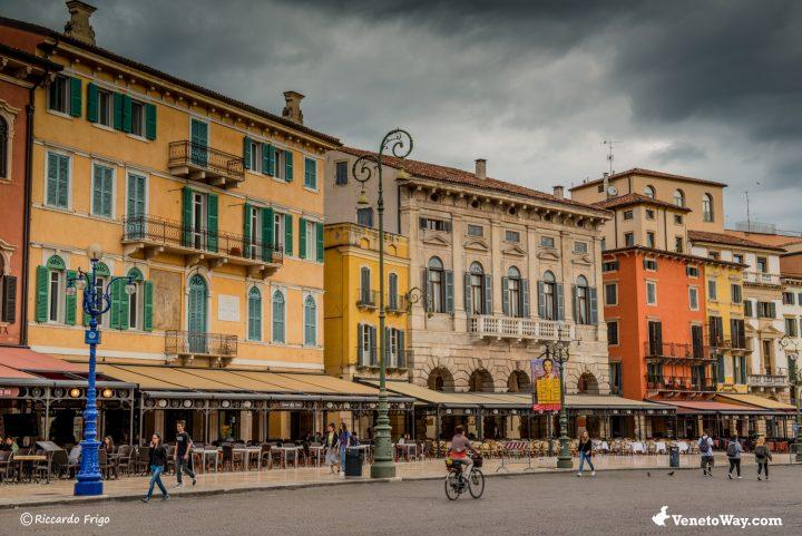 Piazza Bra - Anfiteatro di Verona