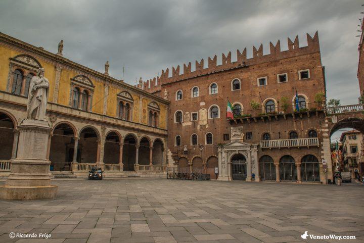 Piazza dei Signori - Il Palazzo della Ragione