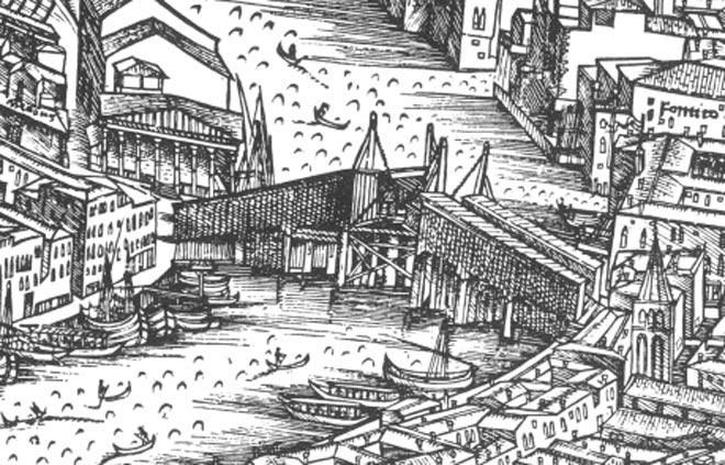 Ponte di Rialto - Jacopo De' Barberi