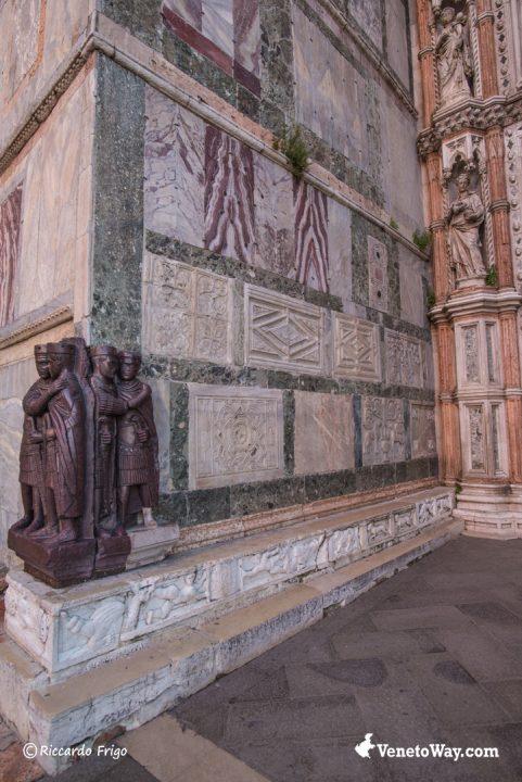 Statua dei Tetrarchi del III IV Secolo D.C.