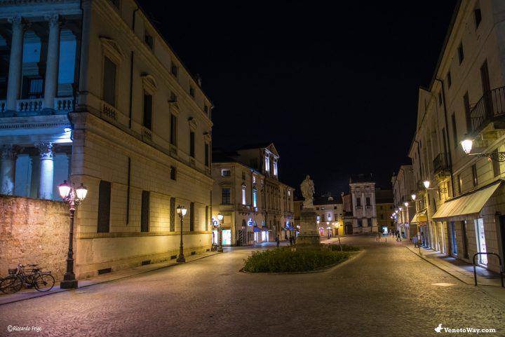 Il centro storico di Vicenza