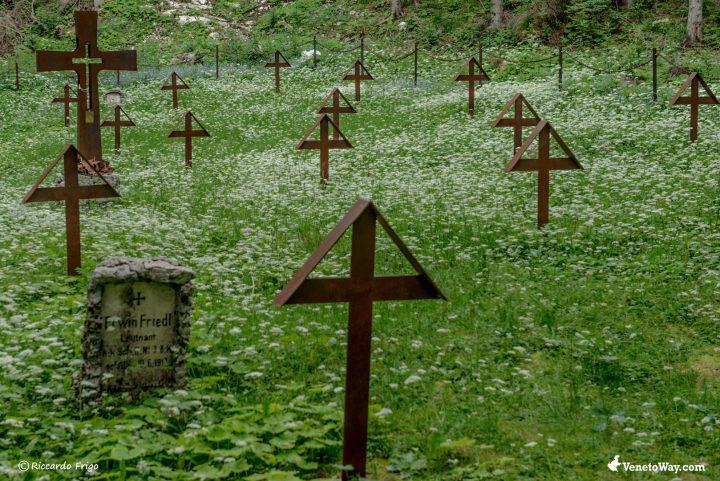 Cimiteri Moschiagh - L'escursione al Forte Interrotto
