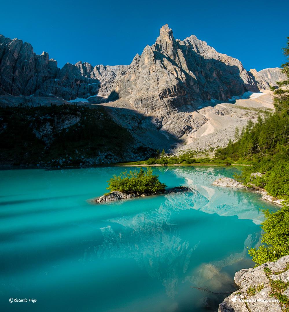 L'escursione al Lago Sorapiss
