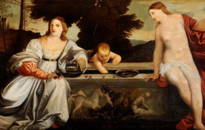 Amor Sacro e Amor Profano - Tiziano Vecellio