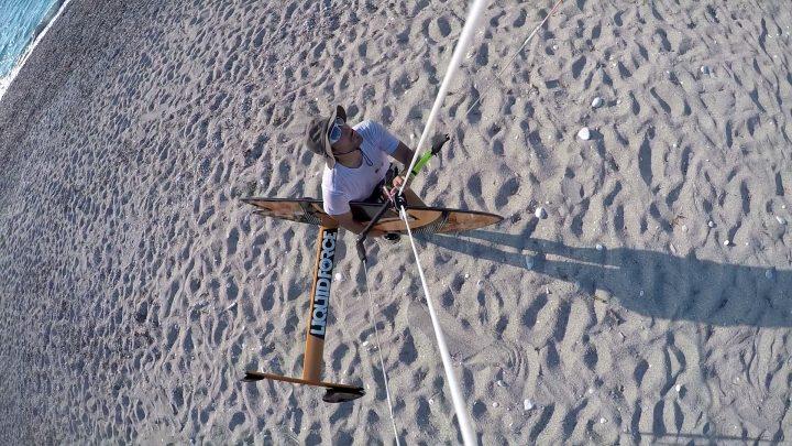 Kitesurf al Lago Santa Croce