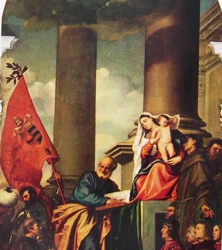 La Pala di Pesaro - Tiziano Vecellio